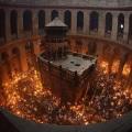 Схождение Балгодатного огня   на Святой Земле 2018